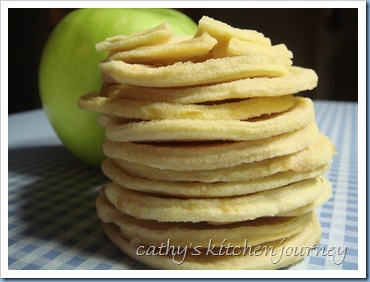 apple chips stack