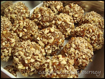 pumpkin pecan candy
