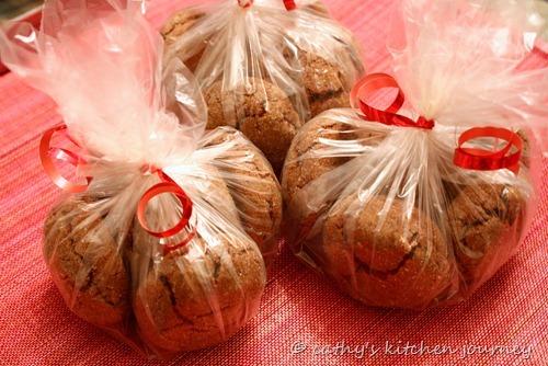 chocolate ginger sugar cookies1