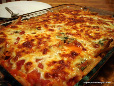New-Mama Meals: Three Cheese Ziti