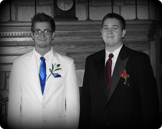 Zach and Alex Prom 2010