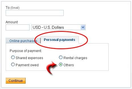 persona payment in paypal