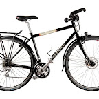 Vivente World Randonneur - Fully equipped steel touring bike - mudguards, CrMo Rack, Dynamo Hub, Trekking Bars -  $1750