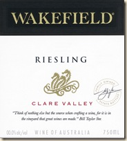 Wakefield Estate Riesling NV