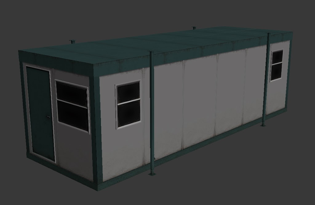 Portable Building Render