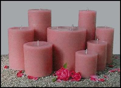 pink-pillar-candles
