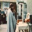 F.Bogdan Boyko holds divine service in the open air under the church walls. O.Богдан Бойко проводить божественну літургію під відкритим небом під стінами храму.