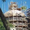 The scaffoldings were put on the church for more than 10 years. Лаштування на соборі знаходилися більше 10 років