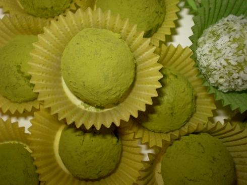 Žaliosios arbatos triufeliai