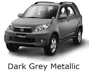 rush: new, toyota, facelift, warna, color, dark grey metallic