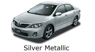 corolla altis: grand, all, new, toyota, facelift, warna, color, silver metallic