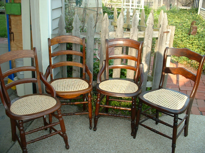 Seatweaving - chair caning