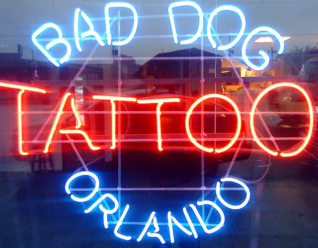 Bad dog productions tattoo shop orlando fl 32804 for Tattoo shops in orlando fl