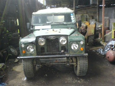 Land rover back in one piece