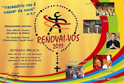 CARTAZ RENOVAI-VOS 2011