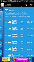 Screenshot of DISH NETWORK Weather