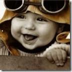 bebê piloto