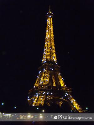 Turnul Eiffel noapte