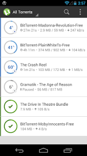 µTorrent®- Torrent Downloader Screenshot