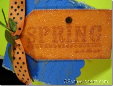 birdhouse spring tag