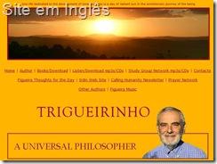 Site do Trigueirinho em Inglês