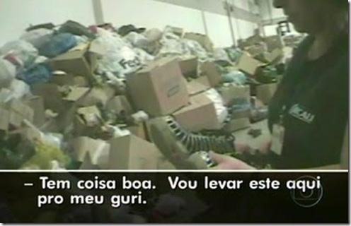 Denúncia: reportagem da R. Globo sobre roubo de doações e outros absurdos, envolvendo poder público e religião