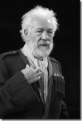 "The Brooklyn Academy of Music presents the Royal Shakespeare Company performing ""King Lear"" with Ian McKellen as King Lear and Sylvester McCoy as Lear's Fool, directed by Trevor Nunn  at the Harvey Theater on Sept. 6, 2007. Credit: Stephanie Berger"