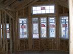 All windows installed in the playroom