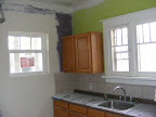 Kitchen with new window
