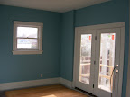 Family room painted