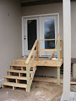 Temporary/permanent stairs for the backdoor