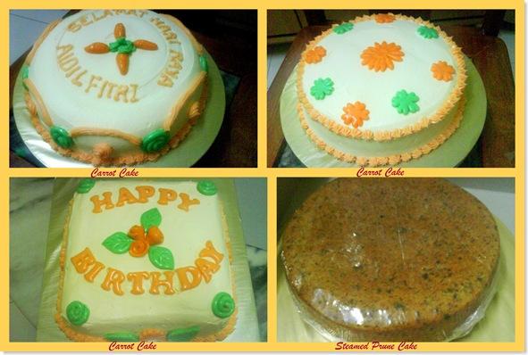 my new cakes