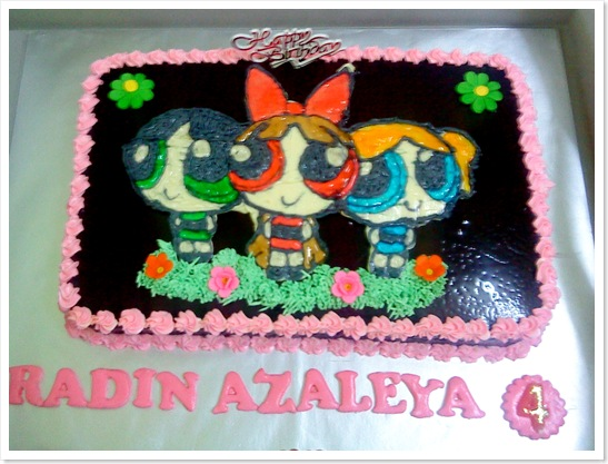 Power Puff Girls cake 2