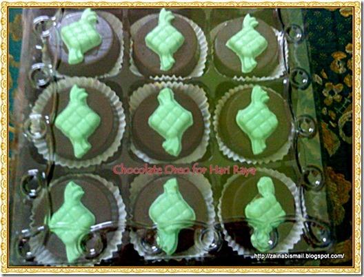 Chocolate Oreo for Hari Raya