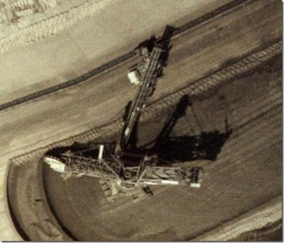 Bagger288_vista do espaço
