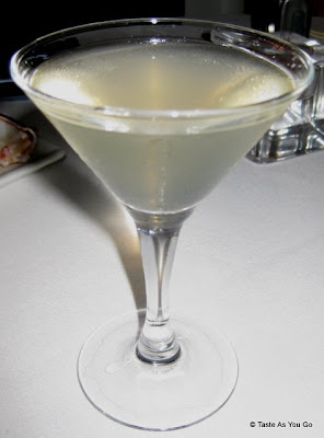Lychee Martini at the Foodbuzz Cocktail Party at David Burke Townhouse | Taste As You Go