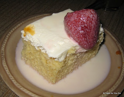 Torta Tres Leches at El Cocotero in New York, NY - Photo by Taste As You Go