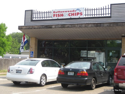 Facade of Buttonwoods Fish & Chips in Warwick, RI - Photo by Taste As You Go