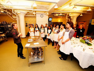 Chef Falkner Addressing Class - Photo Courtesy of RF Binder