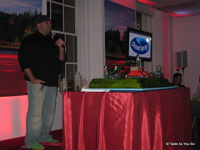 Duff Goldman at the Ocean Spray Party - Photo by Taste As You Go