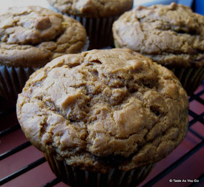 Ginger Sweet Potato Muffins - Photo by Taste As You Go