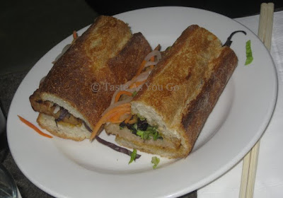 Bahn Mi Au Poulet at Ma Peche (Momofuku Midtown) - Photo by Taste As You Go