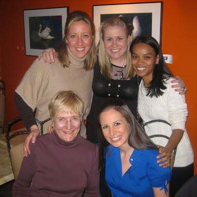 Chi Omegas at Swizz Restaurant & Wine Bar in New York, NY - Photo by Taste As You Go