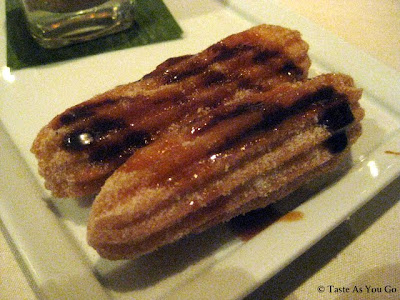 Churros at Maya New York - Photo by Taste As You Go