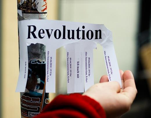 Revolution, 9.4.2010, Altes Innenministerium Erfurt
