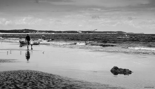 Strand bei Swinemünde