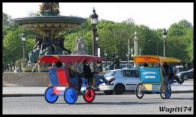 Paris en couleurs , Paris en noir et blanc ! 16.Cyclos-Concorde
