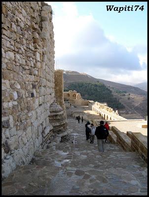 Jordanie : au pays des Nabatéens, des Grecs, des Croisés... et de Dame Nature ! 157%20Karak