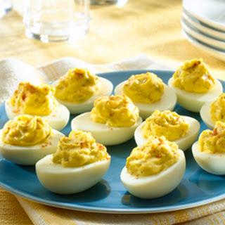Deviled Eggs Vinegar Dry Mustard Recipes