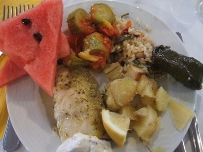 crete buffet dinner